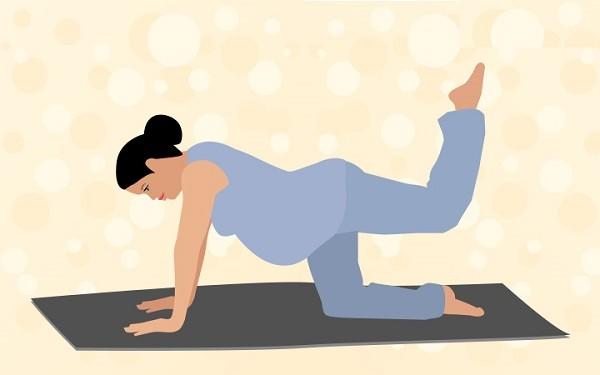 Pilates tư thế vẫy đuôi