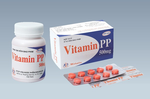 Thông tin thuốc vitamin PP