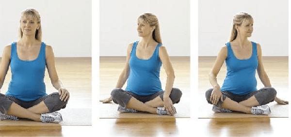 bài tập thể dục tuần 1-4 thai kỳ