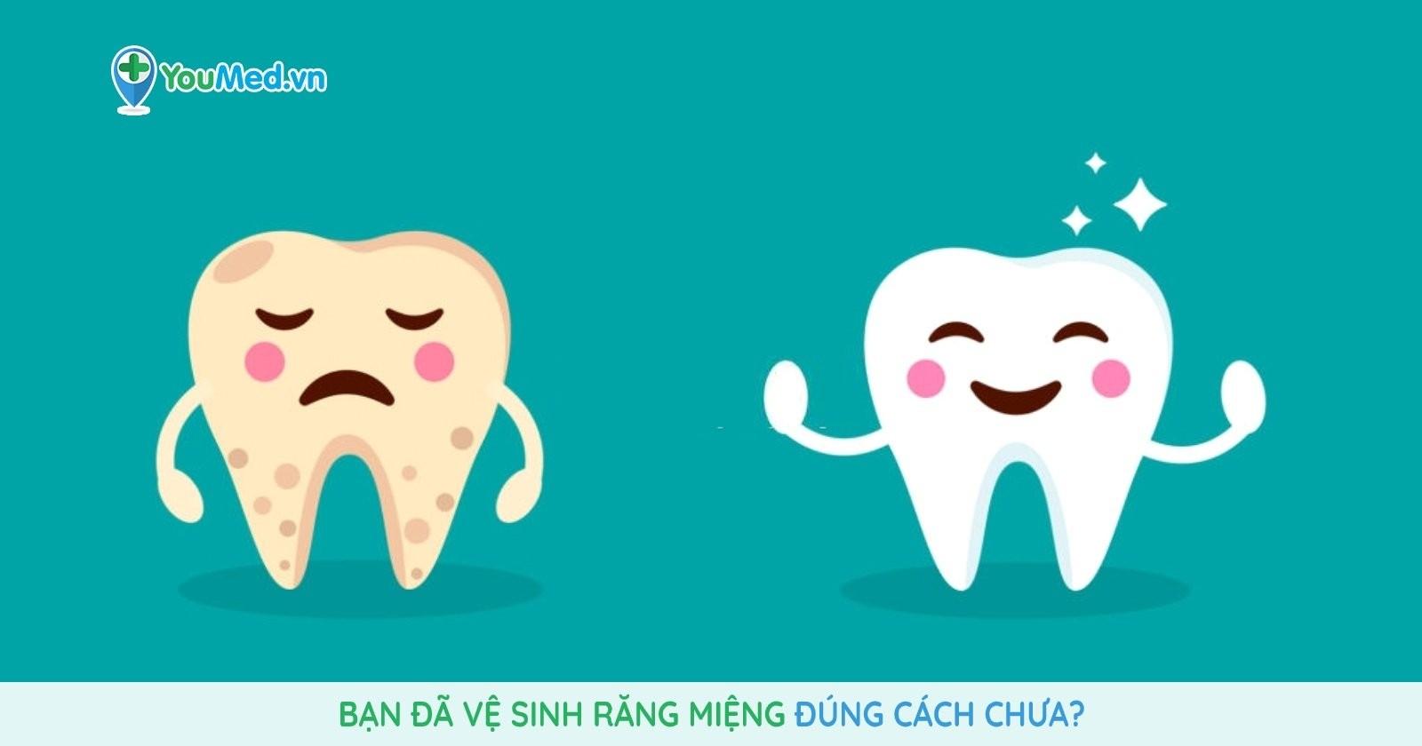 Bạn đã vệ sinh răng miệng đúng cách chưa ?