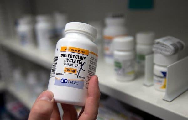 Thuốc kháng sinh Doxycycline điều trị bệnh Lyme