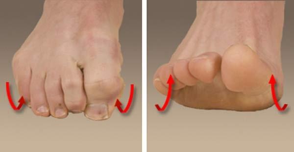 Gập ngón (trái), duỗi ngón (phải)