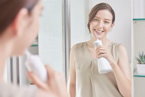 Tăm nước giúp làm sạch nhanh hơn