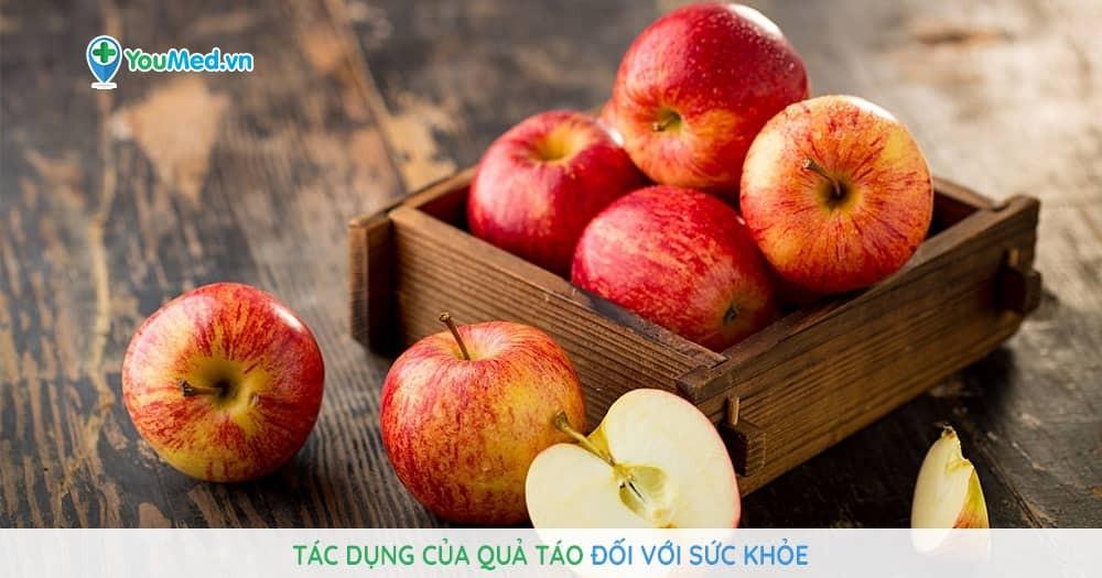 9 tác dụng của quả táo đối với sức khỏe