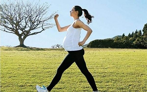 tập thể dục khi mang thai