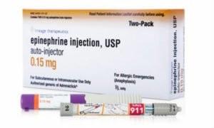 Thuốc Epinephrine dùng xử trí cấp cứu phản ứng phản vệ