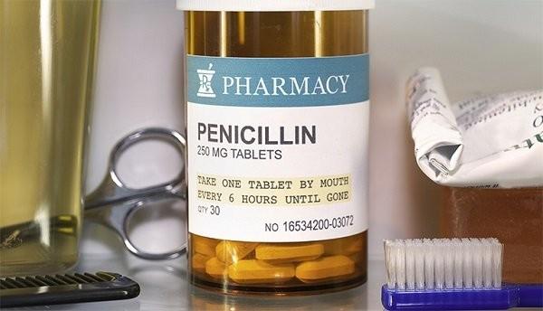 Penicillin là 1 trong các loại thuốc thường gây dị ứng