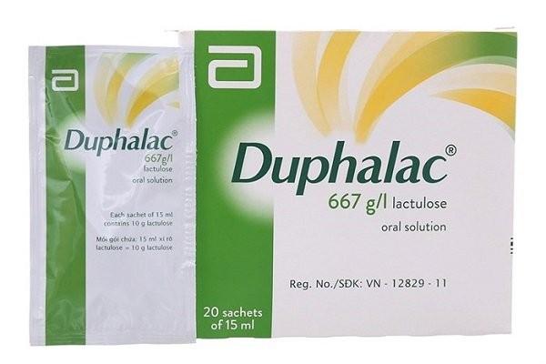 thuốc trị táo bón Duphalac (lactulose)