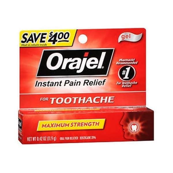 giảm đau răng bằng gel