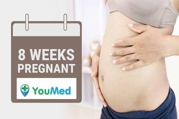 Thai phụ mang thai tuần 8