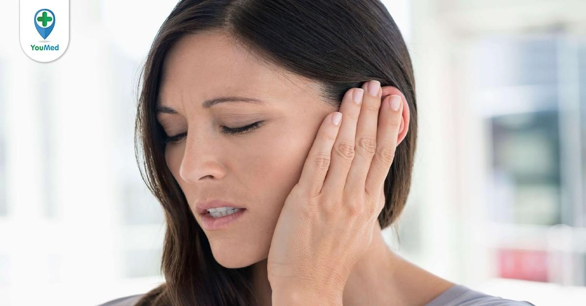 mụn nhọt trong tai