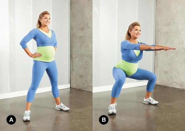 squat plie