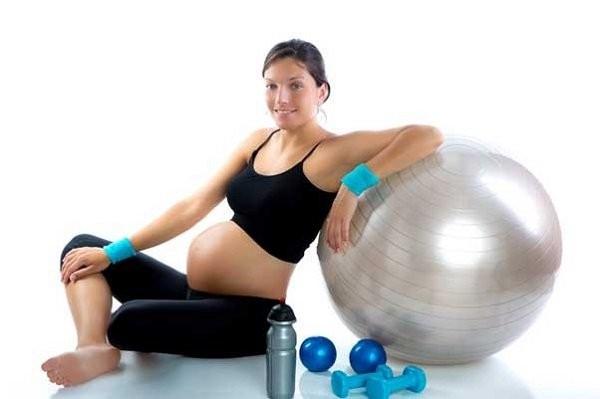 tập thể dục khi mang thai 2