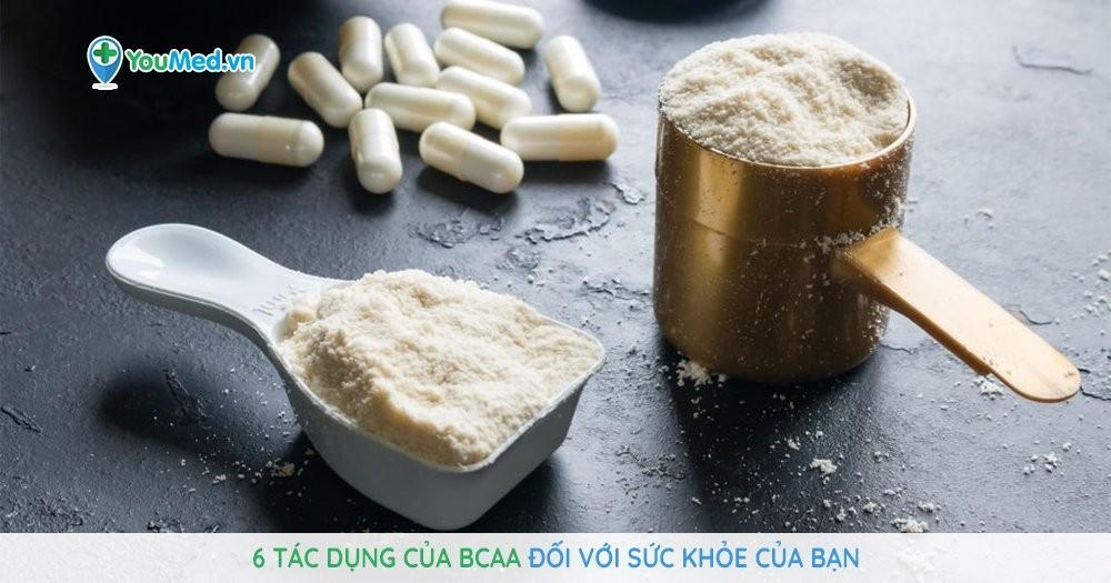 tác dụng của BCAA
