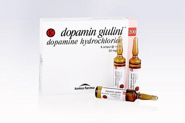 Thuốc tác động lên tim mạch dopamin