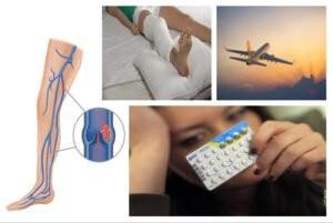 Yếu tố nguy cơ của thuyên tắc tĩnh mạch sâu