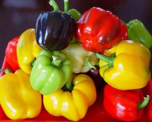 Ớt chuông, thực phẩm giàu vitamin A
