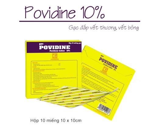 Povidine (povidon iod)
