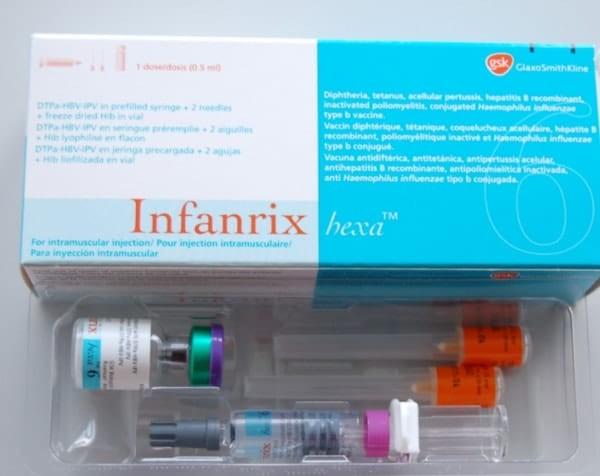 Vắc xin 6 trong 1 có độ an toàn cao ít gây tác dụng phụ