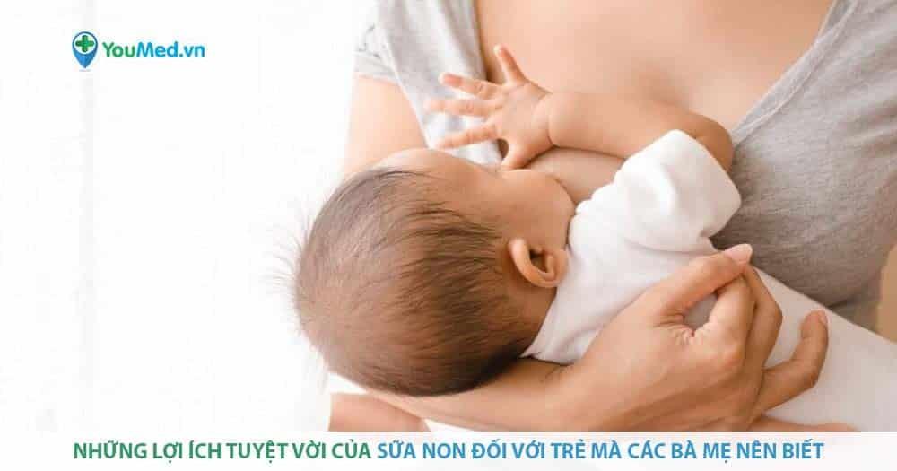 Những lợi ích tuyệt vời của sữa non đối với trẻ mà các bà mẹ nên biết
