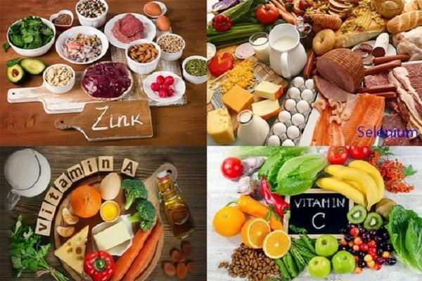 Chế độ ăn đa dạng các thành phần