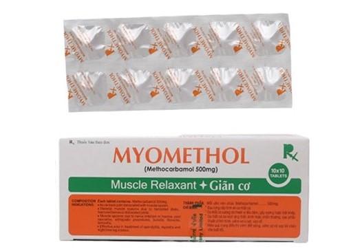 Thuốc Myomethol (methocarbamol)