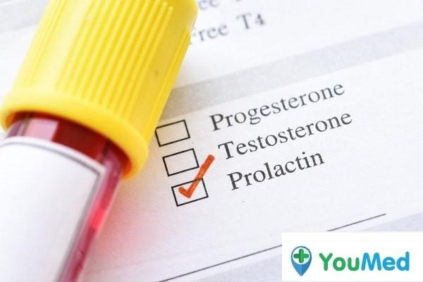 Hormon prolactin chủ yếu gây nên hiện tượng khóc