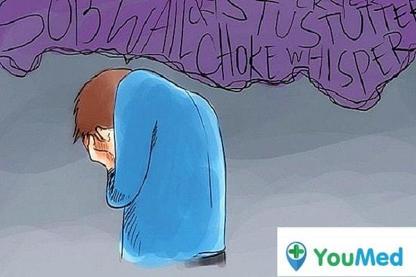 Khóc giúp giải tỏa tâm lý