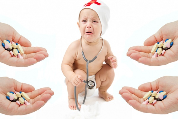 Không tự ý cho trẻ uống thuốc kháng sinh