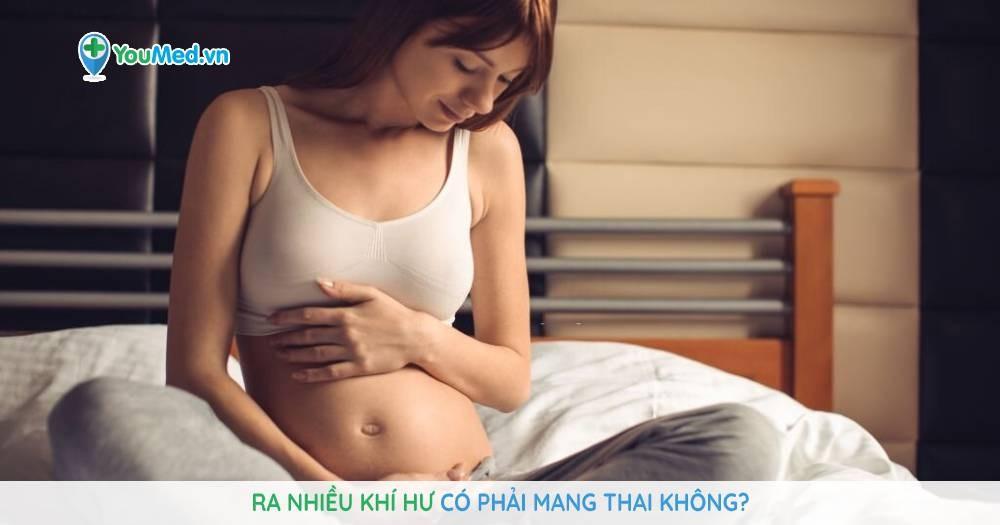 Ra nhiều khí hư có phải mang thai hay không?