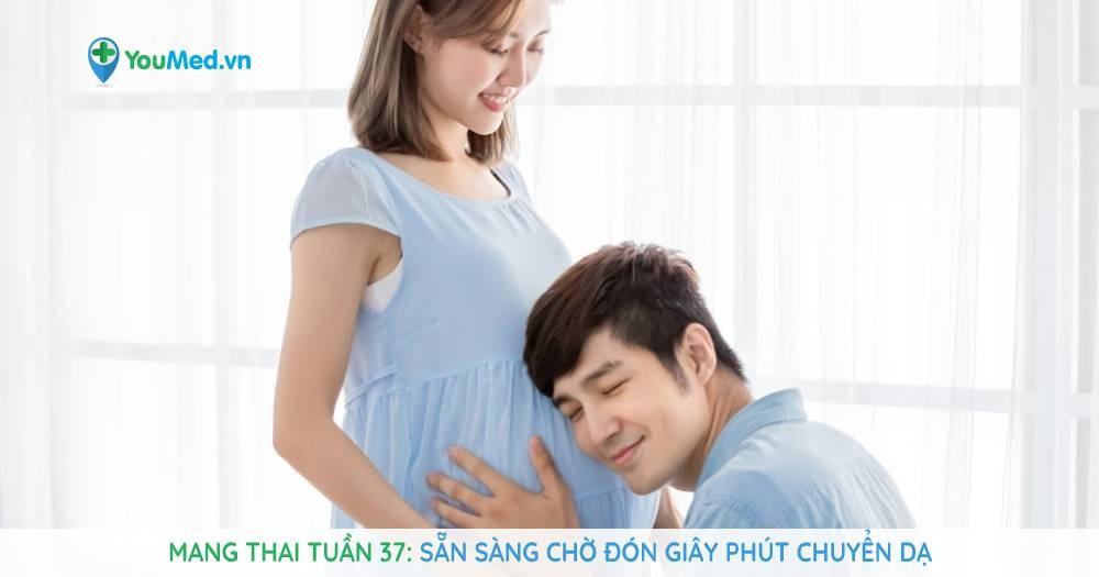 Mang thai tuần 37: Sẵn sàng chờ đón giây phút chuyển dạ