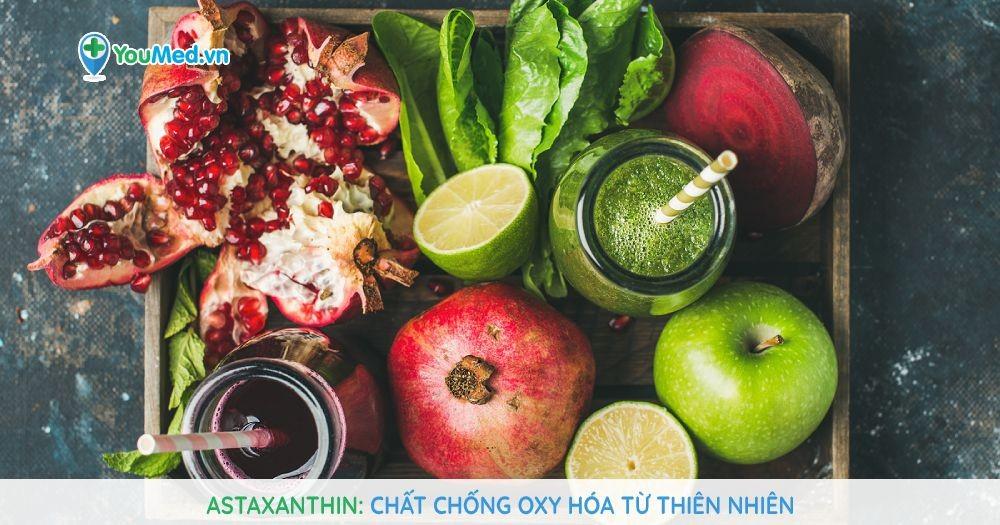 Astaxanthin: Chất chống oxy hóa từ thiên nhiên