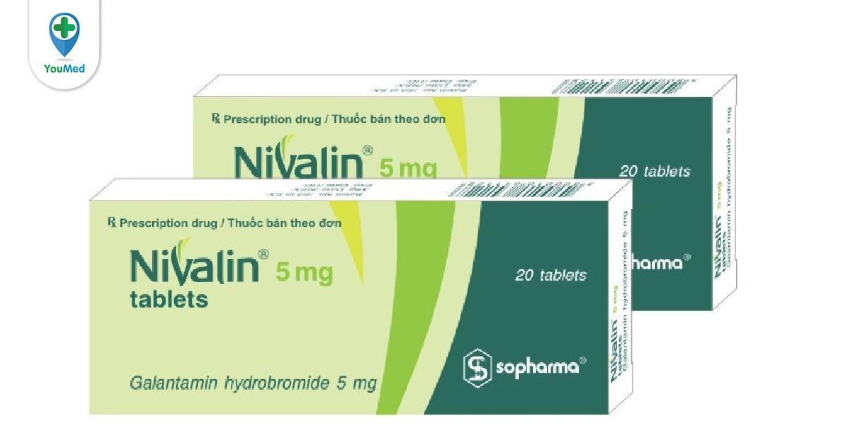 Thuốc Nivalin 5mg trong điều trị Alzheimer và những điều cần biết