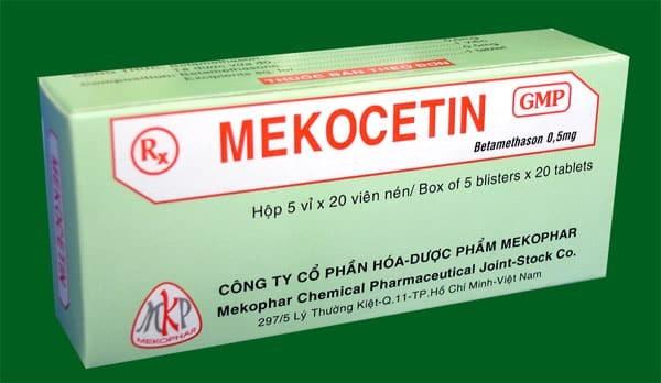 Tìm hiểu thông tin thuốc Mekocetin