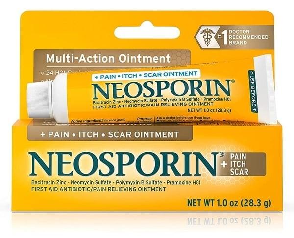 Thuốc mỡ Neosporin Multi – Action Ointment