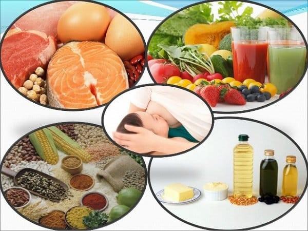 Ô vuông thức ăn cho trẻ ăn dặm - dinh dưỡng trẻ 1 tháng