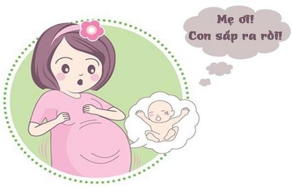 Quá trình chuyển dạ sinh nở ở mẹ bầu