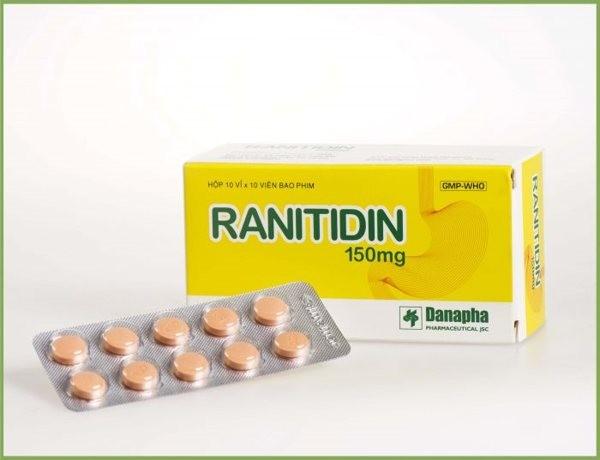 Thuốc Ranitidin 150mg