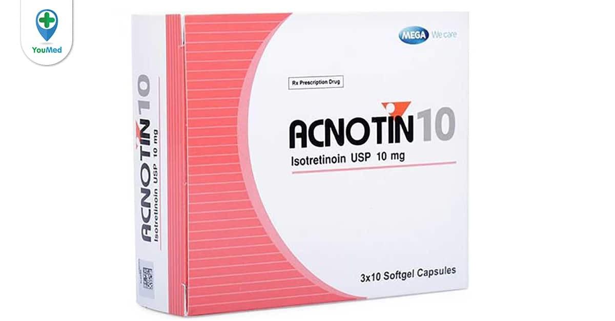 Thuốc Acnotin isotretinoin
