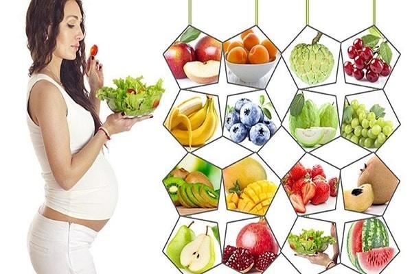 Trái cây nên ăn khi mang thai