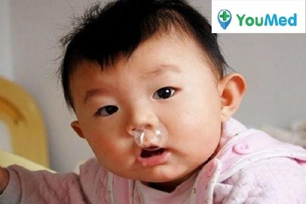 Trẻ sơ sinh rất dễ bị cảm lạnh