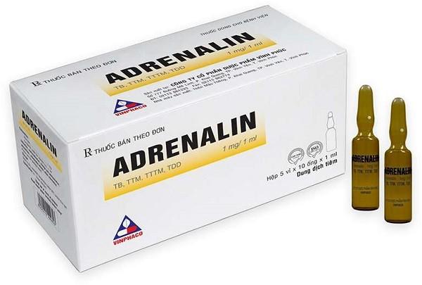 Tìm hiểu thông tin thuốc Adrenalin (epinephrin)