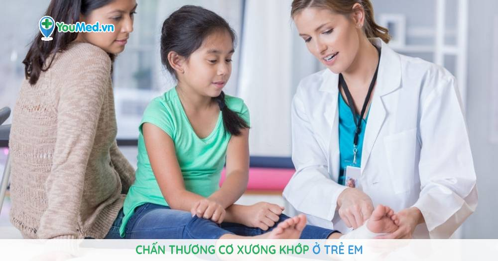 chấn thương cơ xương khớp ở trẻ em
