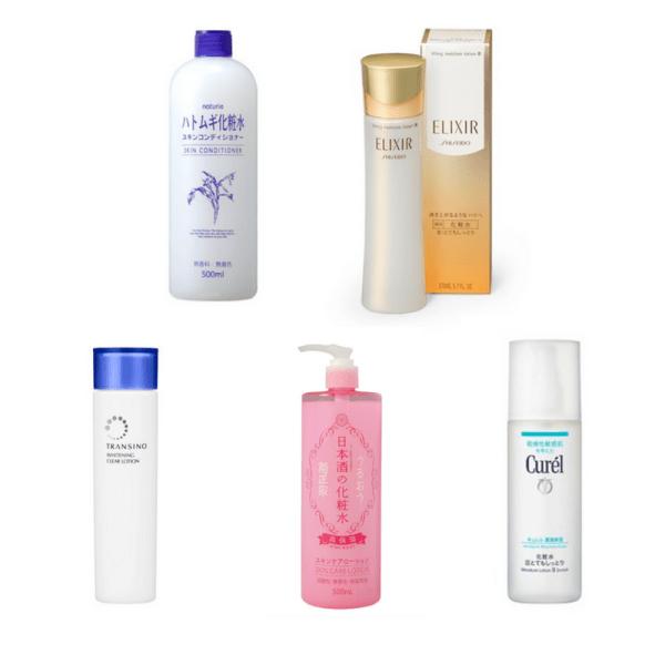 Một số sản phẩm lotion của Nhật Bản