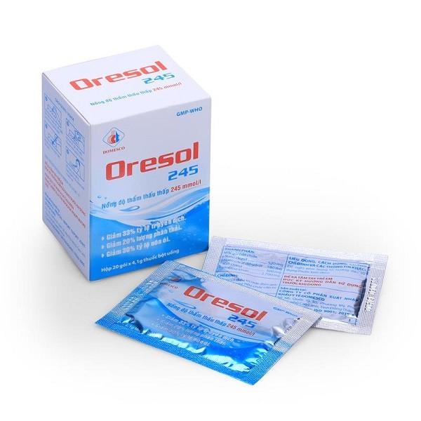 dung dịch bổ sung nước và điện giải Oresol