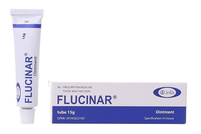 Thuốc mỡ Flucinar