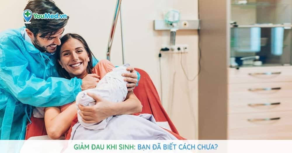 cách giảm đau khi sinh