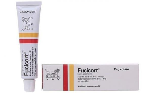 Thiết kế bao bì kem bôi Fucicort