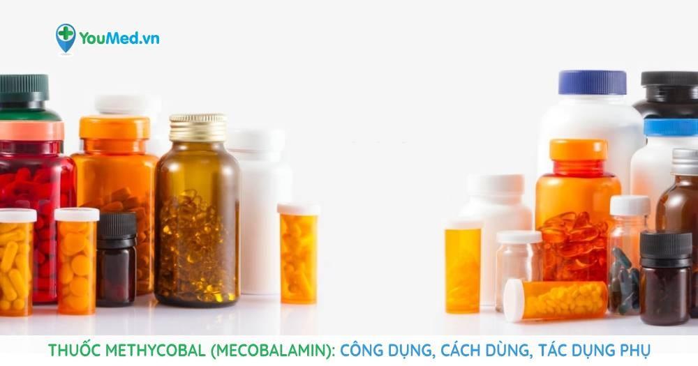 Thuốc Methycobal (mecobalamin): Công dụng, cách dùng, tác dụng phụ