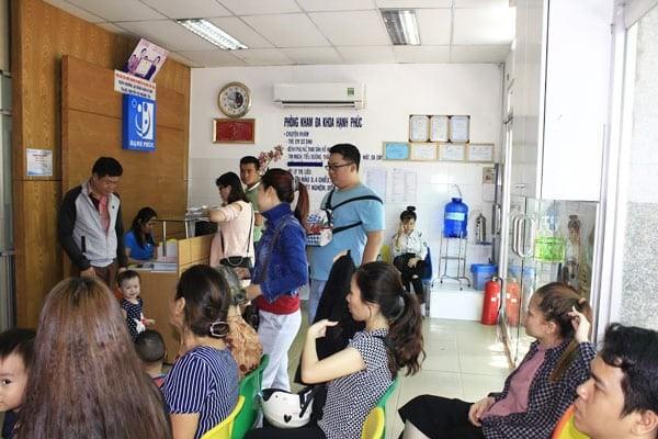 Phòng khám chuyên về Nhi khoa, là nơi thích hợp để khám tiêu hóa cho trẻ